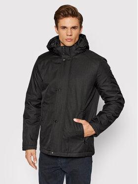 Geox Geox Zimska jakna Arral Mid M1420S T2895 F9000 Crna Regular Fit