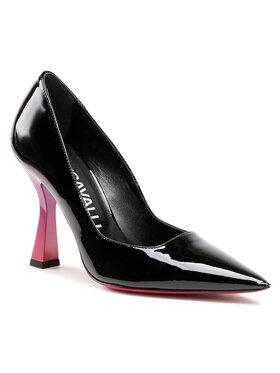 Just Cavalli Just Cavalli Pantofi cu toc subțire S09WL0096 Negru