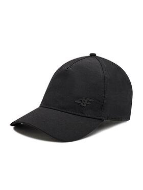 4F 4F Шапка с козирка H4L21-CAM004 Черен