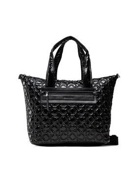 Calvin Klein Calvin Klein Torebka Ck Essential Shopper Quilt Mono K60K608670 Czarny