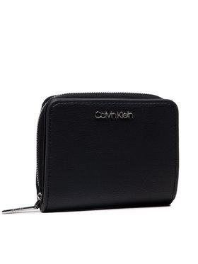 Calvin Klein Calvin Klein Kleine Damen Geldbörse Z/A Wallet W/Flap Md K60K607432 Schwarz