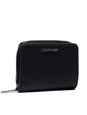 Calvin Klein Calvin Klein Maža Moteriška Piniginė Z/A Wallet W/Flap Md K60K607432 Juoda