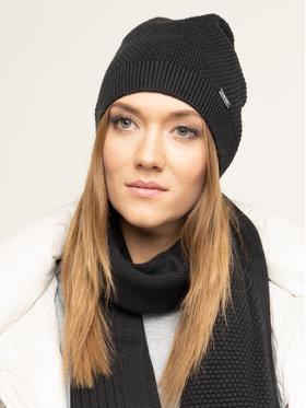 Calvin Klein Calvin Klein Sada čepice a šál Triplekint Giftpack Beanie + Scarf K60L605991 Černá