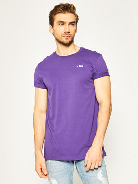 Fila Fila T-Shirt Unwid Tee 682201 Fioletowy Regular Fit