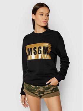 MSGM MSGM Sweatshirt 3141MDM523M 217799 Schwarz Regular Fit