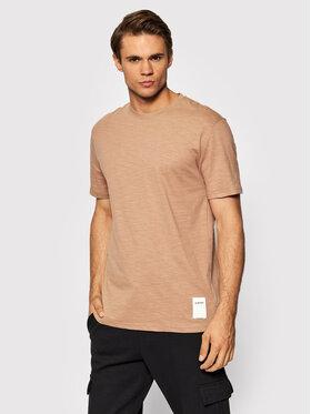 Outhorn Outhorn T-Shirt TSM616 Braun Regular Fit