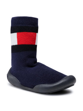 Tommy Hilfiger Tommy Hilfiger Pantofole Slipper T1B0-30972-1072 Blu scuro