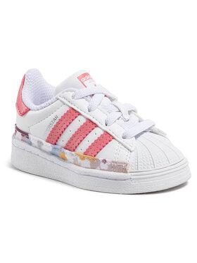 adidas adidas Обувки Superstar El I FY5375 Бял