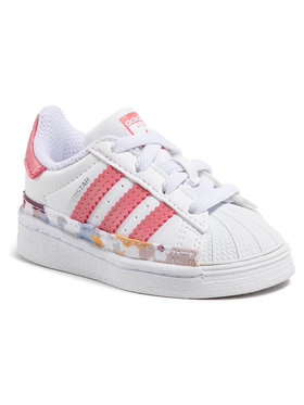 adidas adidas Pantofi Superstar El I FY5375 Alb