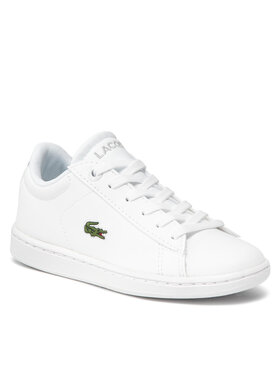 Lacoste Lacoste Sneakers Carnaby Evo Bl 21 1 Suc 7-41SUC000321G Bianco