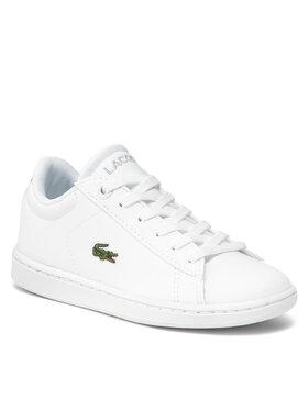 Lacoste Lacoste Sneakersy Carnaby Evo Bl 21 1 Suc 7-41SUC000321G Biały