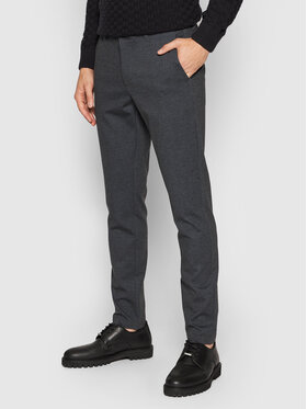 Only & Sons Only & Sons Chinosy Mark 22020391 Granatowy Tapered Fit