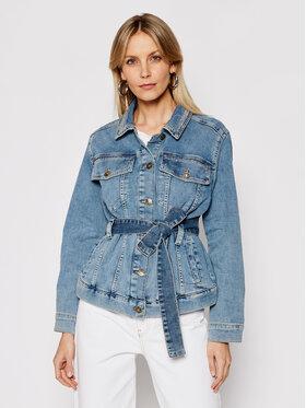 My Twin My Twin Kurtka jeansowa 202MP2070 Niebieski Regular Fit