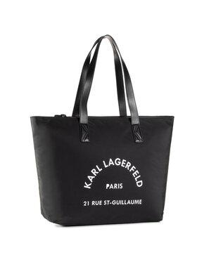 KARL LAGERFELD KARL LAGERFELD Дамска чанта 205W3034 Черен