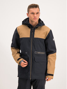 Quiksilver Snowboardová bunda Arrow Wood EQYTJ03212 Čierna Modern Fit