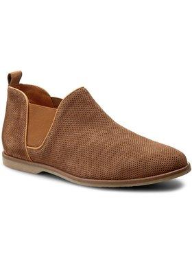 Gino Rossi Gino Rossi Kotníková obuv s elastickým prvkem Cross MSV706-N50-R58Q-2525-0 Hnědá