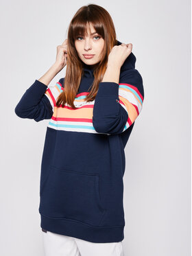 Tommy Jeans Tommy Jeans Sweatshirt Colour Blocked DW0DW07980 Dunkelblau Relaxed Fit