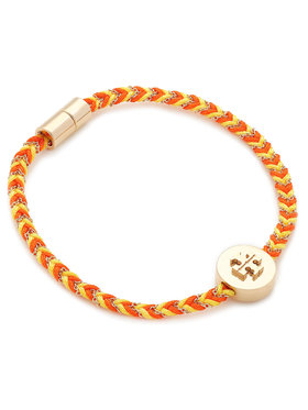 Tory Burch Tory Burch Βραχιόλι Kira Braided Bracelet 78923 Έγχρωμο