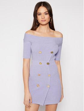 Elisabetta Franchi Elisabetta Franchi Rochie tricotată AM-07Q-11E2-V499 Violet Slim Fit