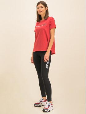 Tommy Sport Tommy Sport T-Shirt Tee Logo S10S100061 Červená Regular Fit