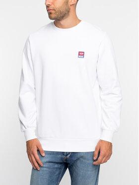 Diesel Diesel Sweatshirt S-Gir-Div-P 00S556 0IAJH Blanc Regular Fit
