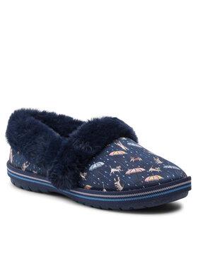 Skechers Skechers Pantofole BOBS Movie Night 113486/NVMT Blu scuro