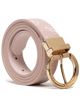 Guess Guess Дамски колан Naya Belts BW7501 VIN30 Розов