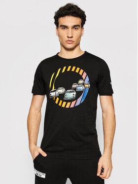 Puma Puma T-Shirt Pl Graphic Tee 599751 Czarny Regular Fit