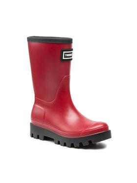 TwinSet TwinSet Guminiai batai 212TCP270 Raudona
