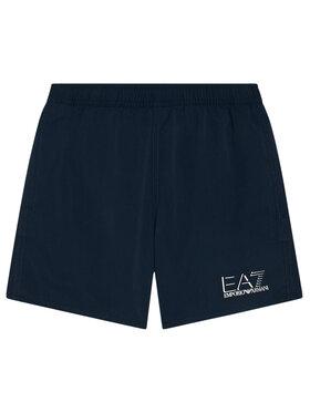 EA7 Emporio Armani EA7 Emporio Armani Szorty kąpielowe 906005 1P772 06935 Granatowy Regular Fit