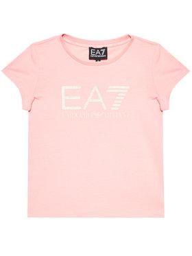 EA7 Emporio Armani EA7 Emporio Armani Marškinėliai 3KFT51 FJ2HZ 1416 Rožinė Regular Fit