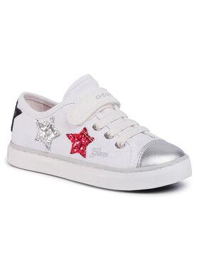 Geox Geox Sneakersy J Ciak G. I J0204I 00010 C0007 S Bílá
