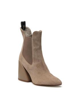 Carinii Carinii Členková obuv B5760 Béžová