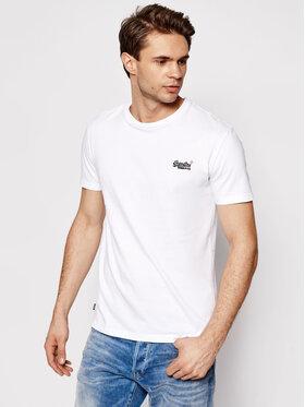 Superdry Superdry T-Shirt Ol Vintage Emb Tee M1010206A Biały Regular Fit
