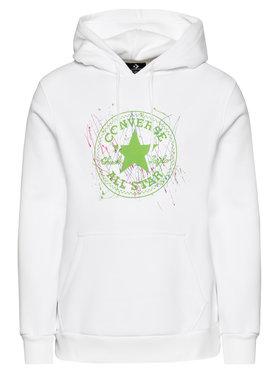 Converse Converse Sweatshirt Chuck Taylor Patch Splatter Paint 10021520-A01 Blanc Regular Fit