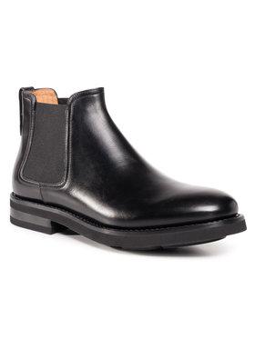 Fabi Fabi Členková obuv s elastickým prvkom FU0156 Čierna