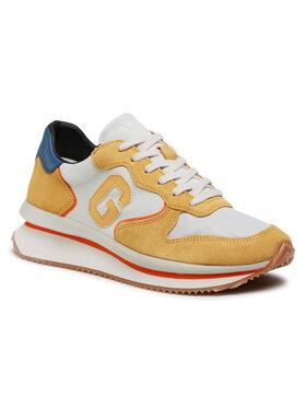Guess Sneakersy Made FM5RUN FAB12 Žltá