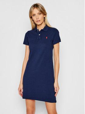 Polo Ralph Lauren Polo Ralph Lauren Každodenné šaty Polo Shirt Shop 211799490005 Tmavomodrá Regular Fit
