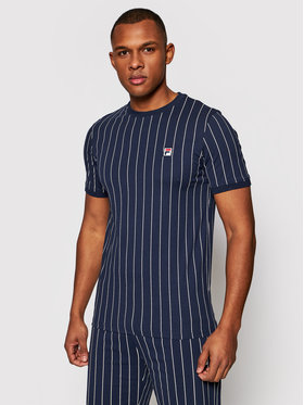 Fila Fila T-Shirt Hogan 688788 Dunkelblau Regular Fit