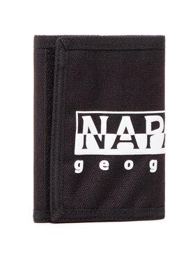 Napapijri Napapijri Portafoglio grande da uomo Happy Wallet 2 NP0A4EU50 Nero