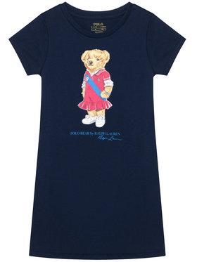 Polo Ralph Lauren Polo Ralph Lauren Ежедневна рокля Bear 312837200001 Тъмносин Regular Fit