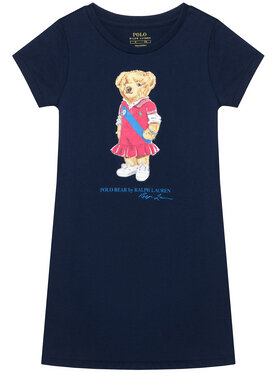 Polo Ralph Lauren Polo Ralph Lauren Každodenní šaty Bear 312837200001 Tmavomodrá Regular Fit