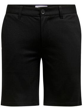 Only & Sons Only & Sons Short en tissu Mark 22018667 Noir Regular Fit