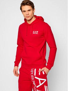 EA7 Emporio Armani EA7 Emporio Armani Sweatshirt 3KPM31 PJ8LZ 1451 Rot Regular Fit