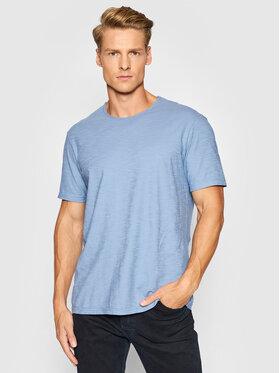 United Colors Of Benetton United Colors Of Benetton T-Shirt 3JE1J19A5 Niebieski Regular Fit