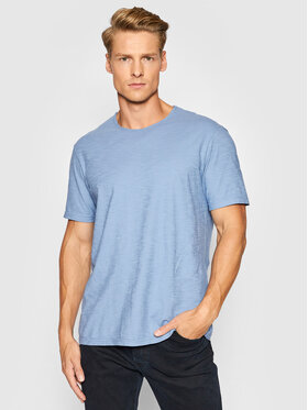 United Colors Of Benetton United Colors Of Benetton Тишърт 3JE1J19A5 Син Regular Fit