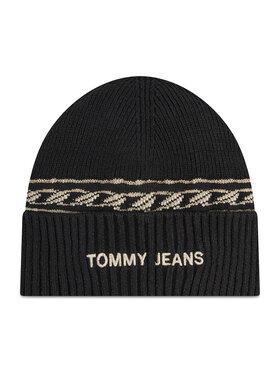 Tommy Jeans Tommy Jeans Czapka Tjw Femme Beanie AW0AW10710 Czarny