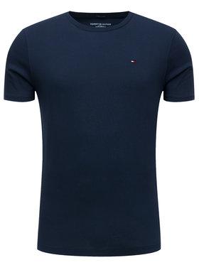 TOMMY HILFIGER TOMMY HILFIGER T-Shirt 2S87904671 Granatowy Regular Fit