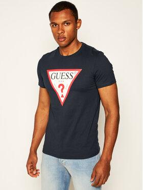 Guess Guess T-Shirt Original Logo Tee M0GI71 I3Z00 Tmavomodrá Slim Fit