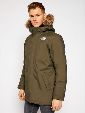 The North Face The North Face Giubbotto invernale Zaneck NF0A4M8H21L1 Verde Regular Fit